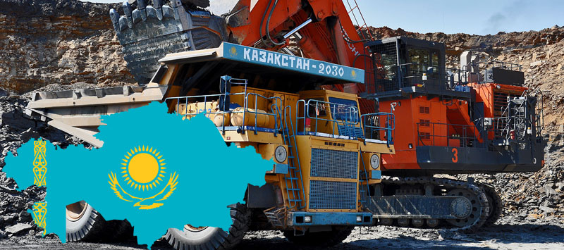 Kazakhstan has 30% of the global reserves of chrome ores (second place in the world)