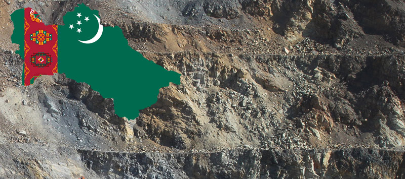 Turkmenistan had the world's third-largest reserves of sulfur