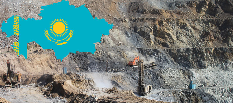 Kazakhstan has the second largest uranium, chromium, lead, and zinc reserves in the world