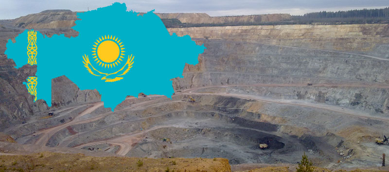 Some 233 mining enterprises produce a wide variety of commodities in Kazakhstan