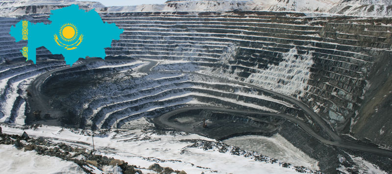 Kazakhstan is ranked sixth in the world in terms in terms of minerals resources