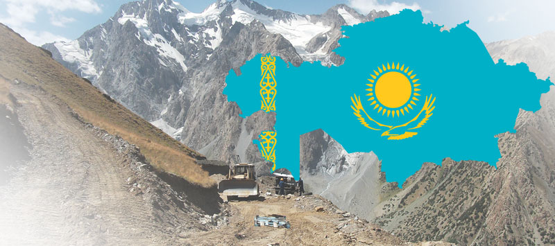 Kazakhstan's mineral and resources base consists of 5,004 fields with a net worth of  trillion